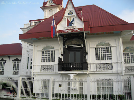 Close up view of Aguinaldo Shrine