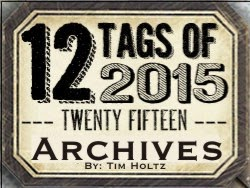 Tim Holtz Tags 2015