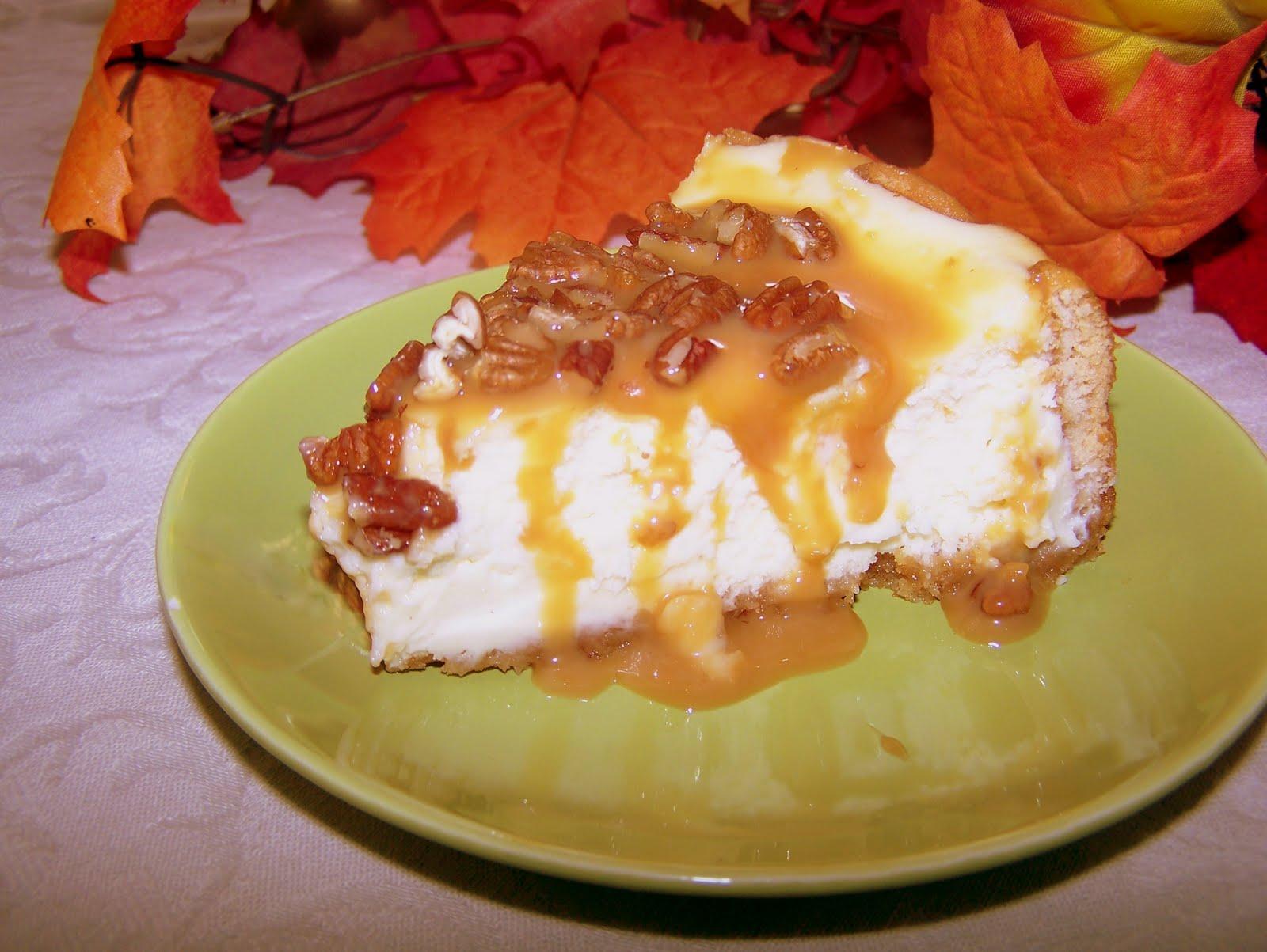 TheKitchenCookie: Praline Cheesecake