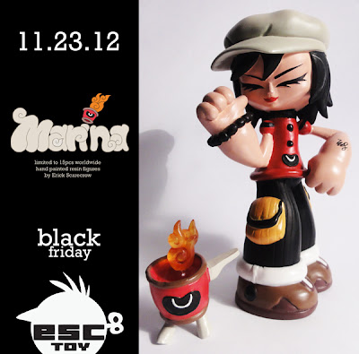 Black Friday Exclusive Marina Oyl Resin Figure by Erick Scarecrow
