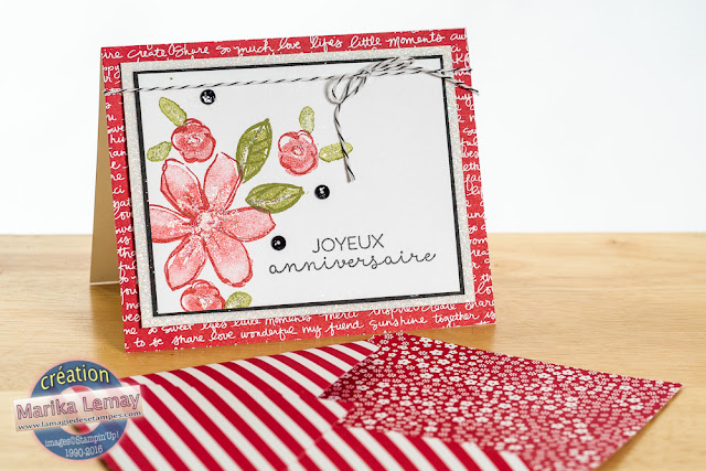 garden in bloom Stampin' Up! 2015-2016