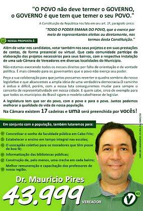 Dr Maurício Pires