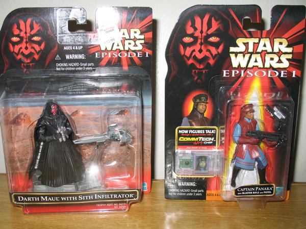 The Phantom Menace Toys : Michael doherty s star wars collection for sale