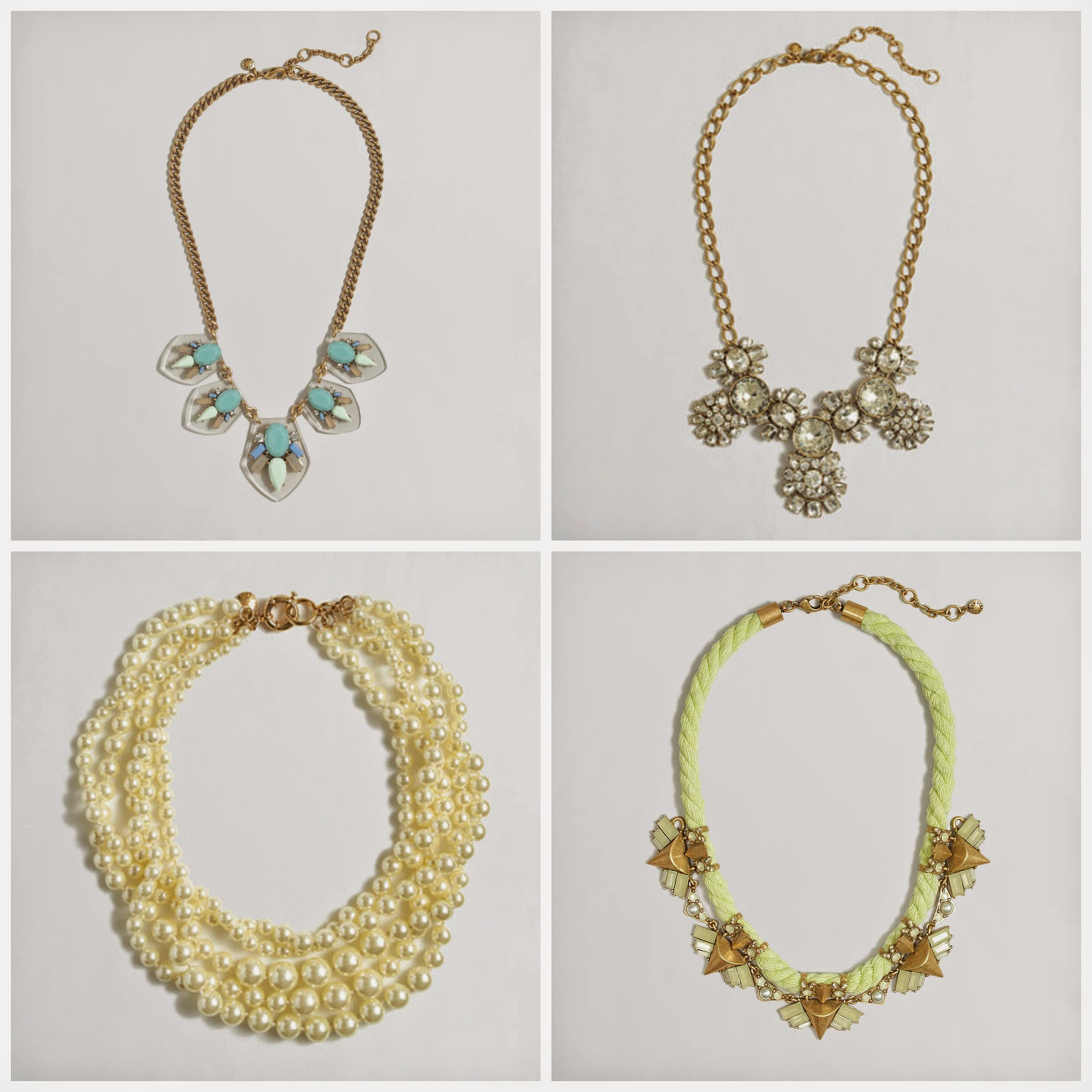 j crew factory jewelry sale 15 necklace pearl crystal