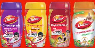 four flavors of Chyawanprash
