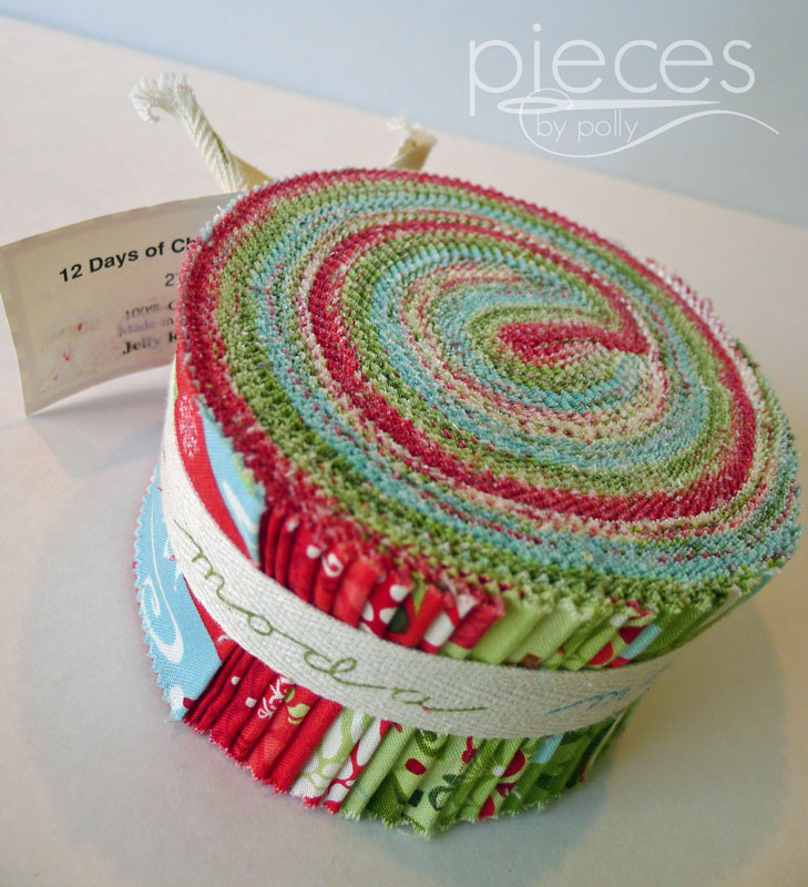 Pieces by Polly: GIVEAWAY: 12 Days of Christmas Jelly Roll and 20 ...