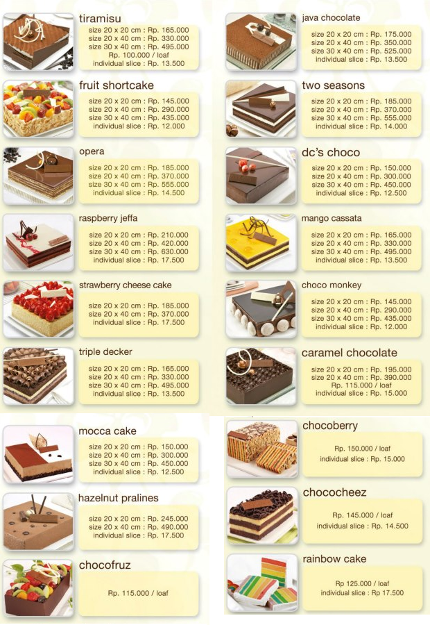 Delivery Food in Jakarta Delivery Coklat by Dapur Coklat