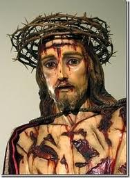 JESUS CHAGADO E ENSANGUENTADO
