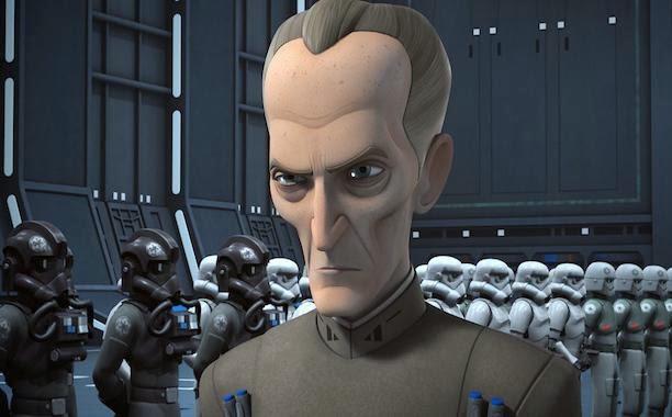 Grand Moff Tarkin - Star Wars Rebels