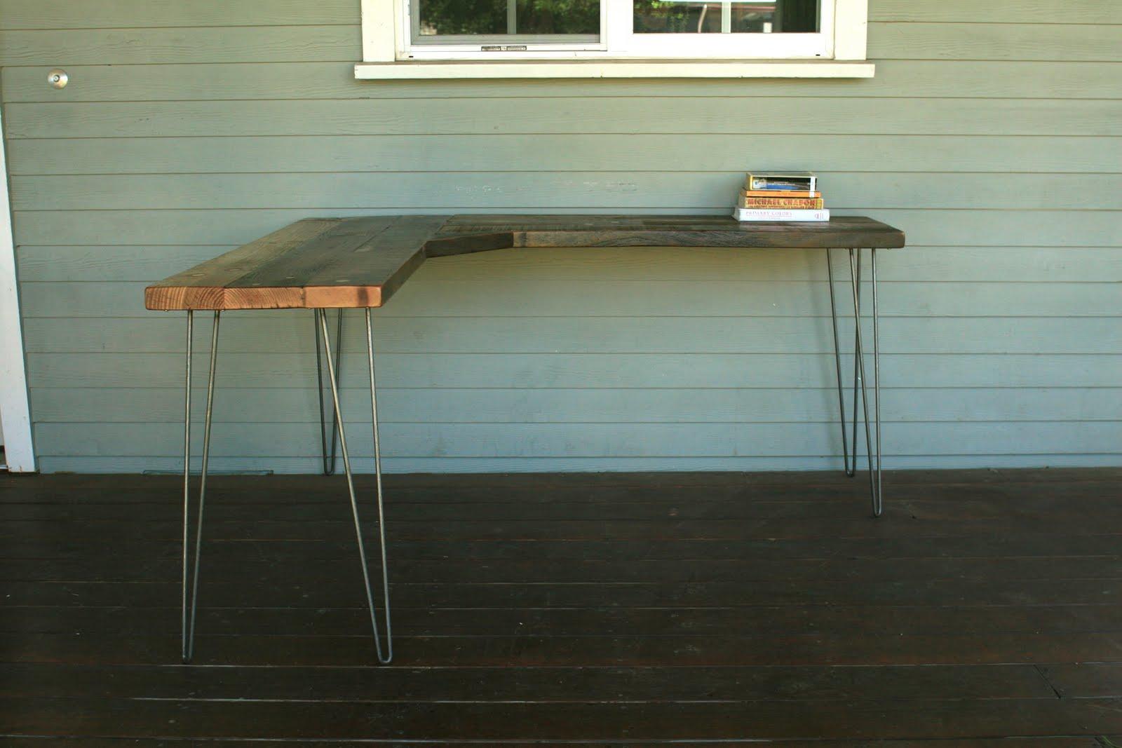 Arbor Exchange Reclaimed Wood Furniture Corner Desk