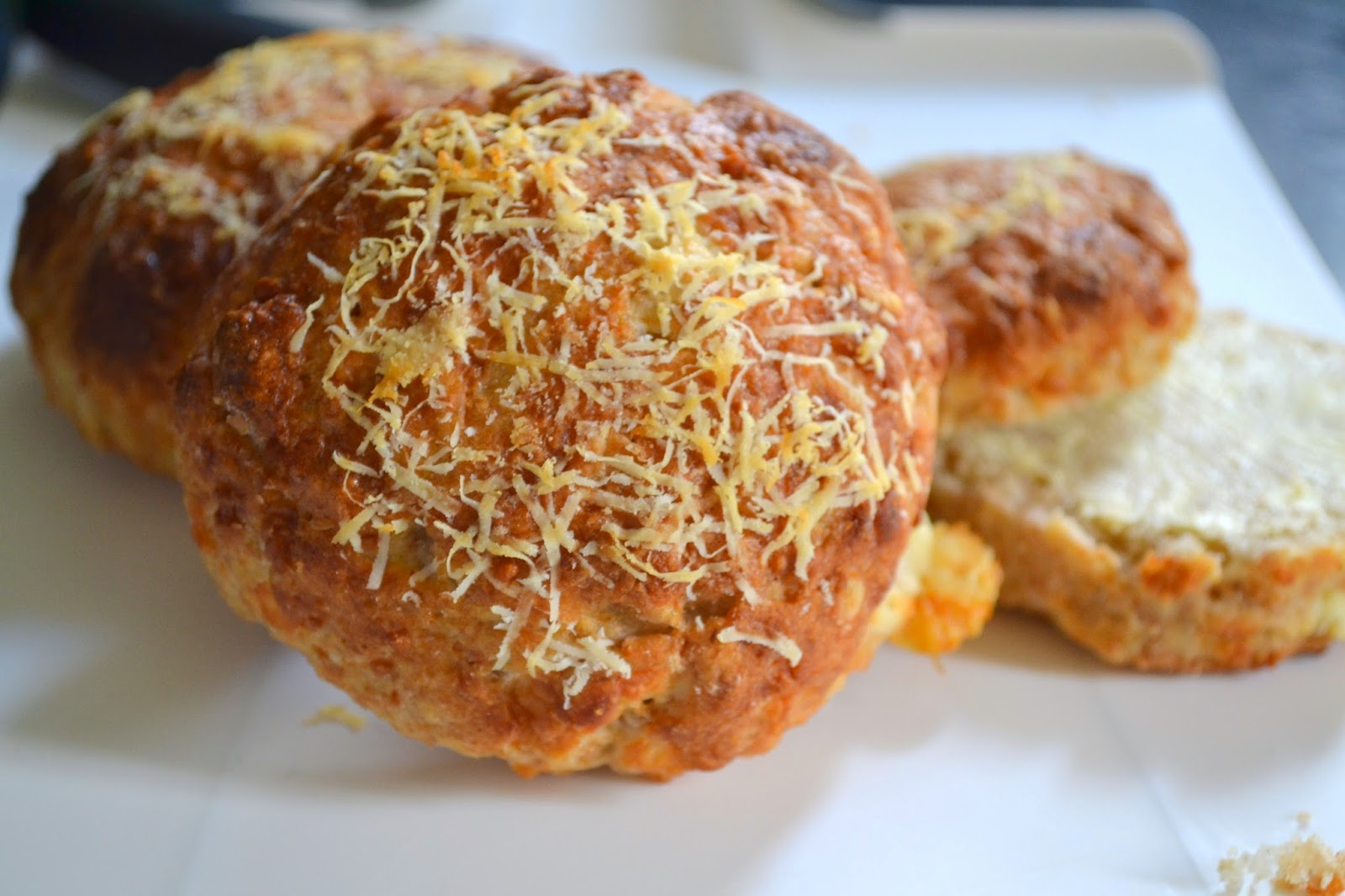 A recipe for homemade cheese scones