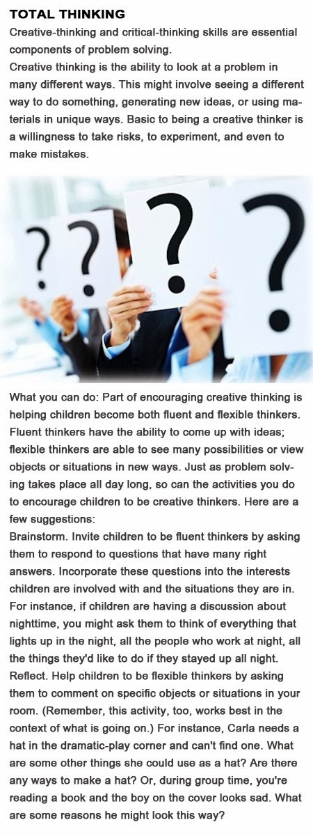 Creative problem solving activities for kids