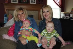 4/17/11 Sarah & Reese (6 mos), Jamie & Mason (6 mos)