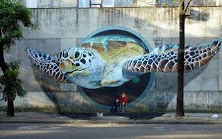 Τα πιο ρεαλιστικά graffitti, σωστά έργα τέχνης! [φωτο]