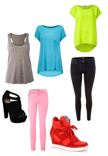 Assortment of very trendy spectacular