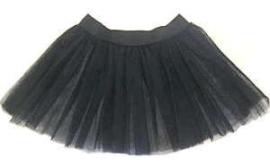 Black 3 layer tutu