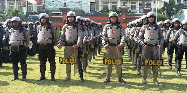Polri: 269 Kali Aksi Teror Terjadi di Indonesia