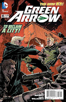 Green Arrow #16 Cover