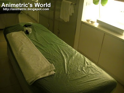 Inside a treatment room in QiWellness