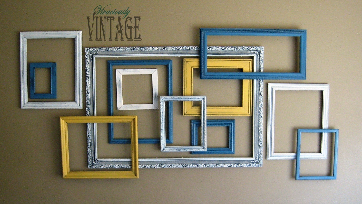 Ansley Designs: 3D Layered Picture Frame Art