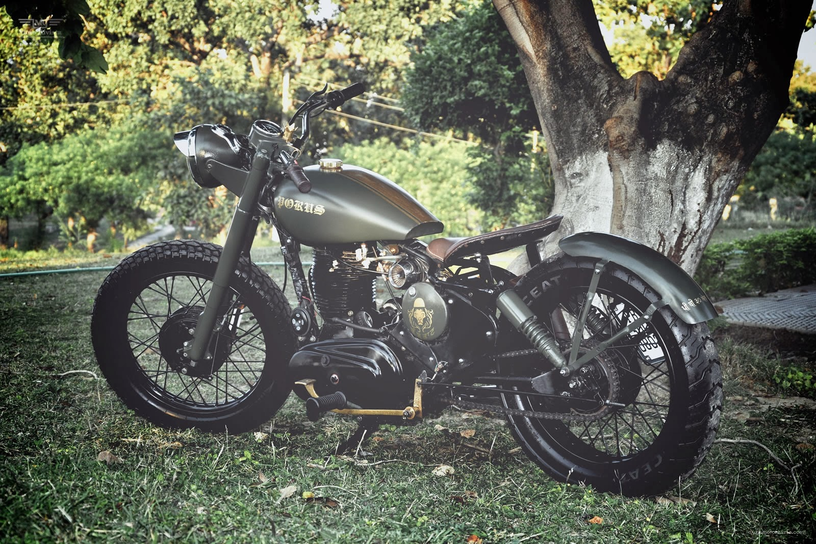 Royal Enfield Custom by Bambukaat MC | Royal Enfield Custom | Custom Royal Enfield | Royal Enfield Custom modifications | Royal Enfield Bullet | Royal Enfield Bullet Custom