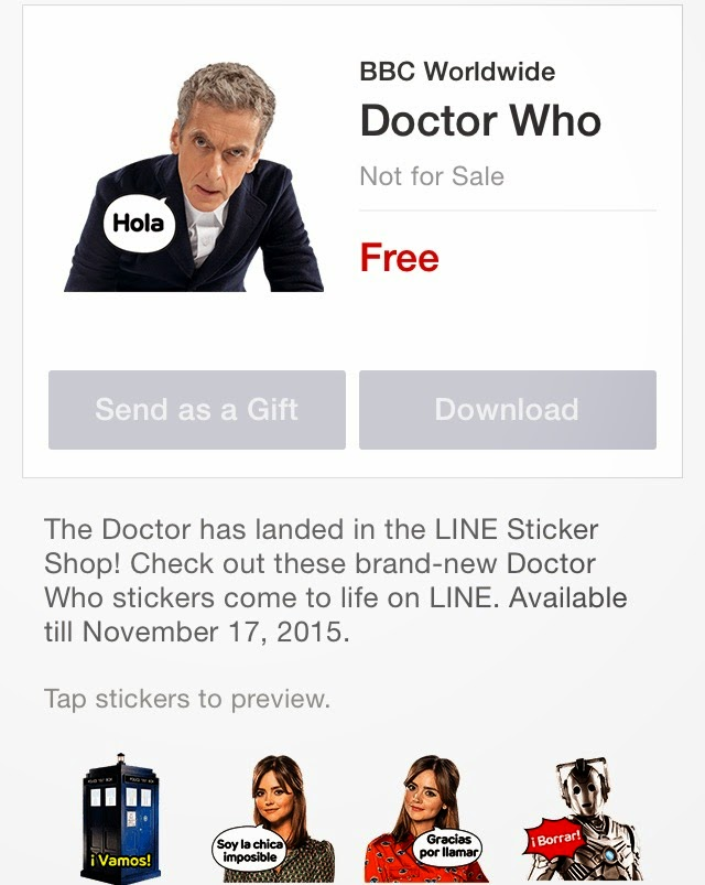 free doctor who stickers