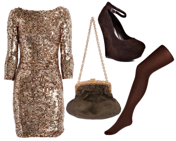 Kind Of Sparkly Outfits Winter Wedding Guest Dresses Attire