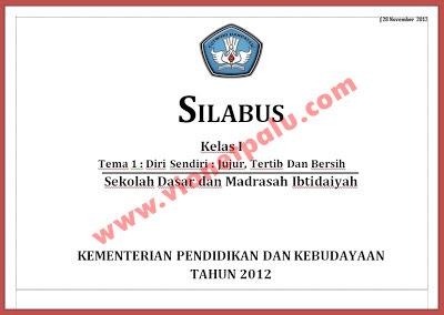 Silabus dan RPP Kurikulum 2013 Untuk SD