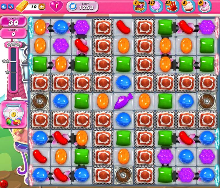 Candy Crush Saga 1253