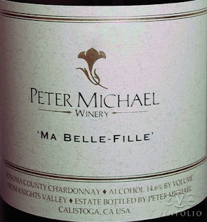 Chardonnay Sonoma County Ma Belle-Fille 2008