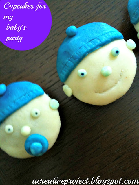 baby shower cakes, baby boy cupcakes,