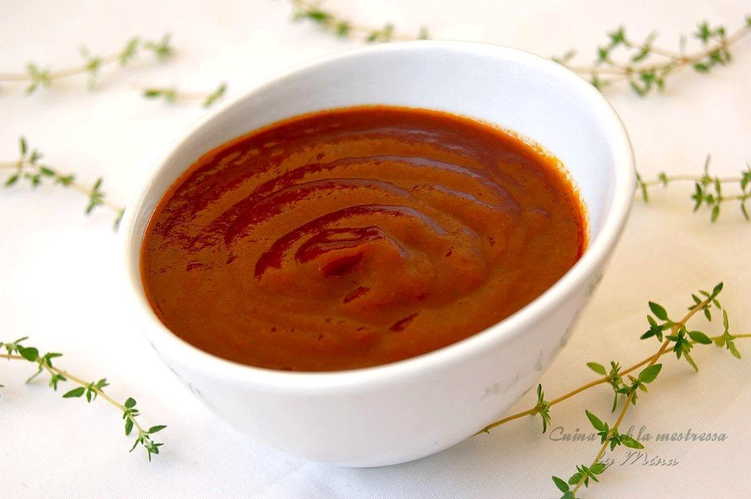 cuina amb la mestressa salsa barbacoa receta casera