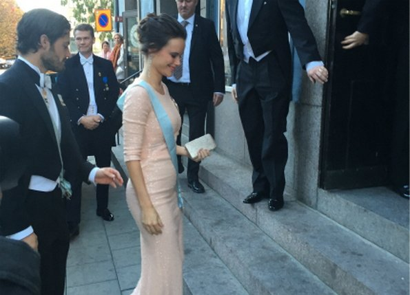 Prince Carl Phillip and Princess Sofia attends meetings of the Royal Swedish Academy