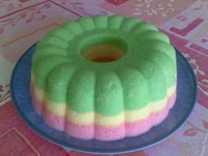Resep Membuat Kue Bolu Kukus Pelangi