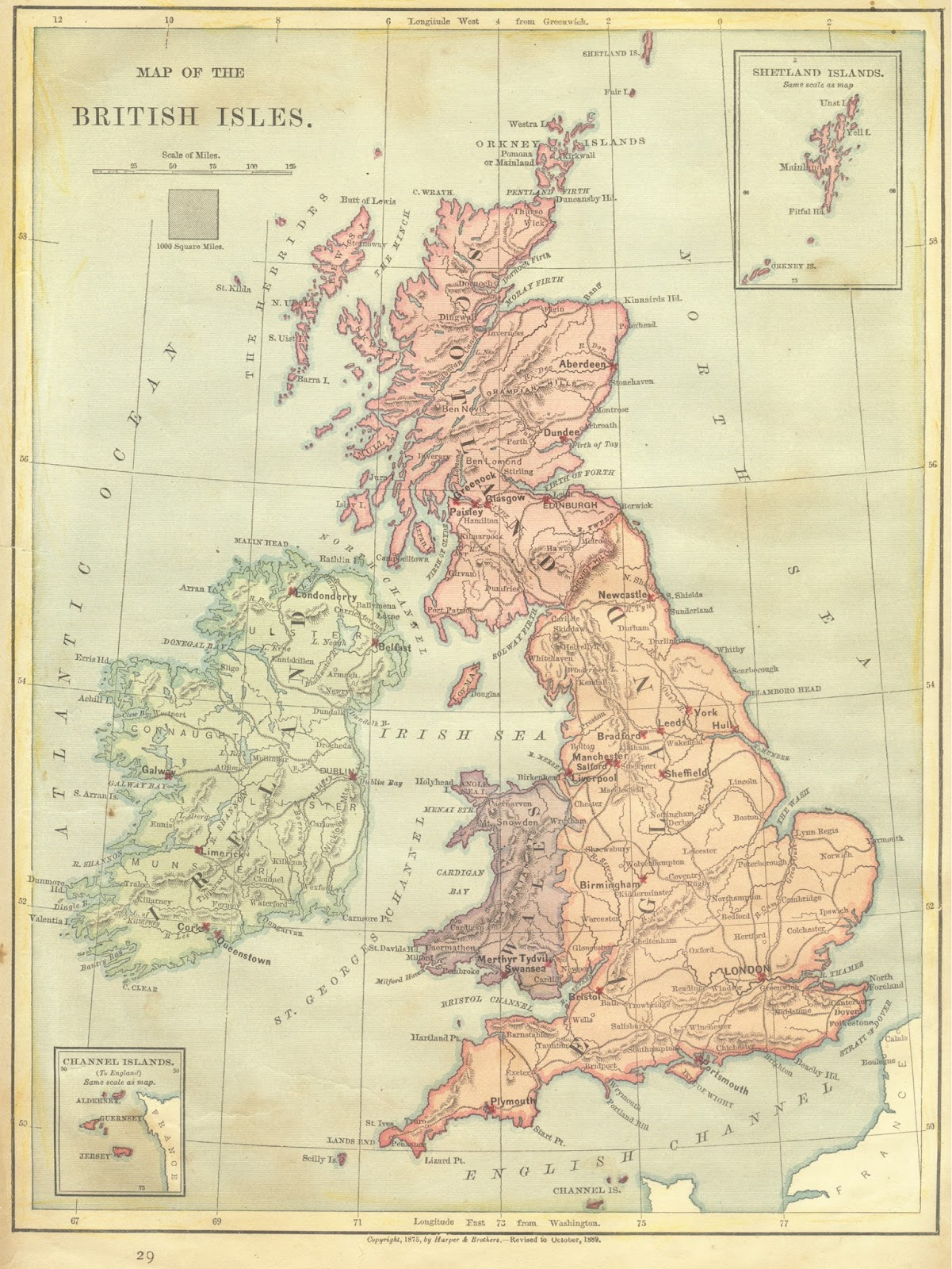 not to mention searching on ebay or other sites for old maps this is one i found at a swap years ago of great britain from 1889 vintage