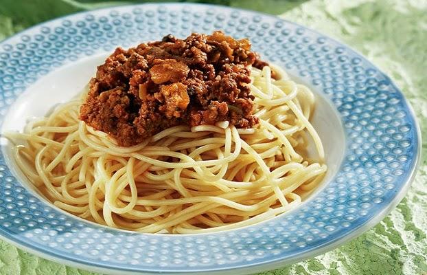 Μακαρόνια με κιμά - Συνταγή