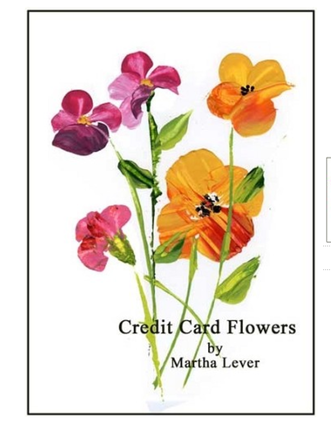 Credit Card Flowers