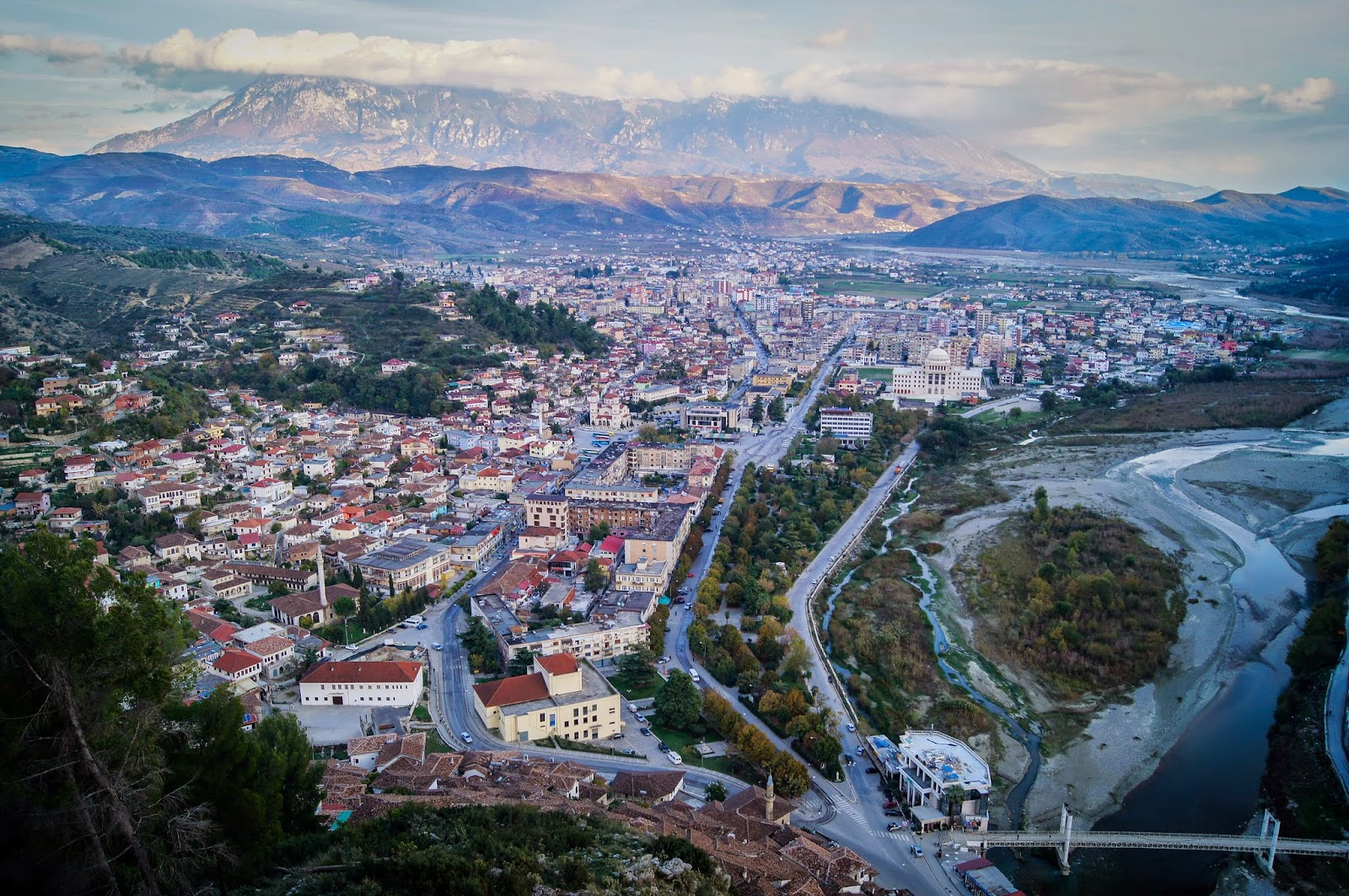 Berat desde la fortaleza