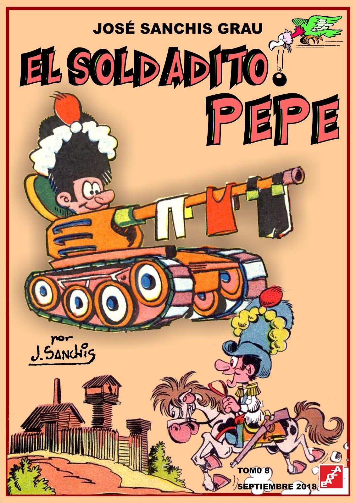 El soldadito Pepe - Tomos 01 - 08 - José Sanchis - EAGZA