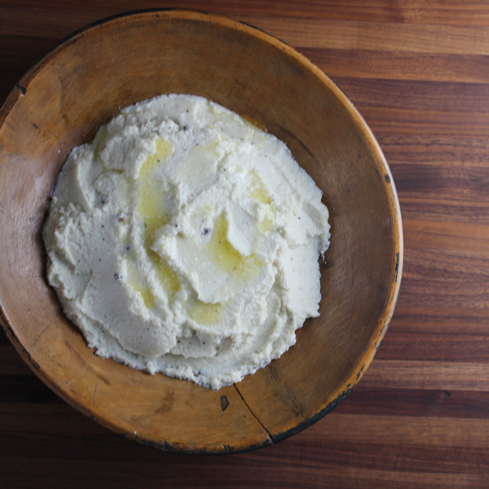 Buttermilk Mashed Cauliflower