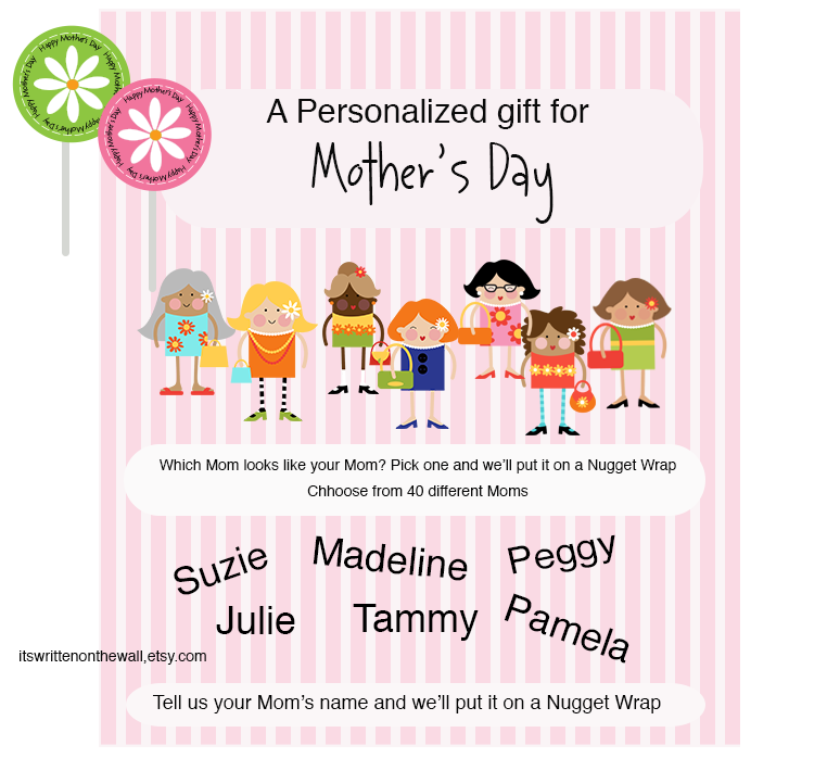 Personalize some Sweet Treats for Mom Plus.....