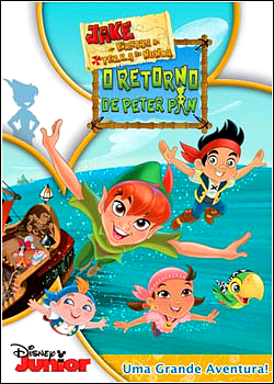 Jake e os Piratas da Terra do Nunca: O Retorno de Peter Pan DVDRip XviD &amp; RMVB Dublado