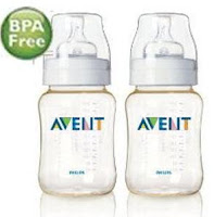 Avent Bottle Airflex 9oz/260ml PES Twin Pack
