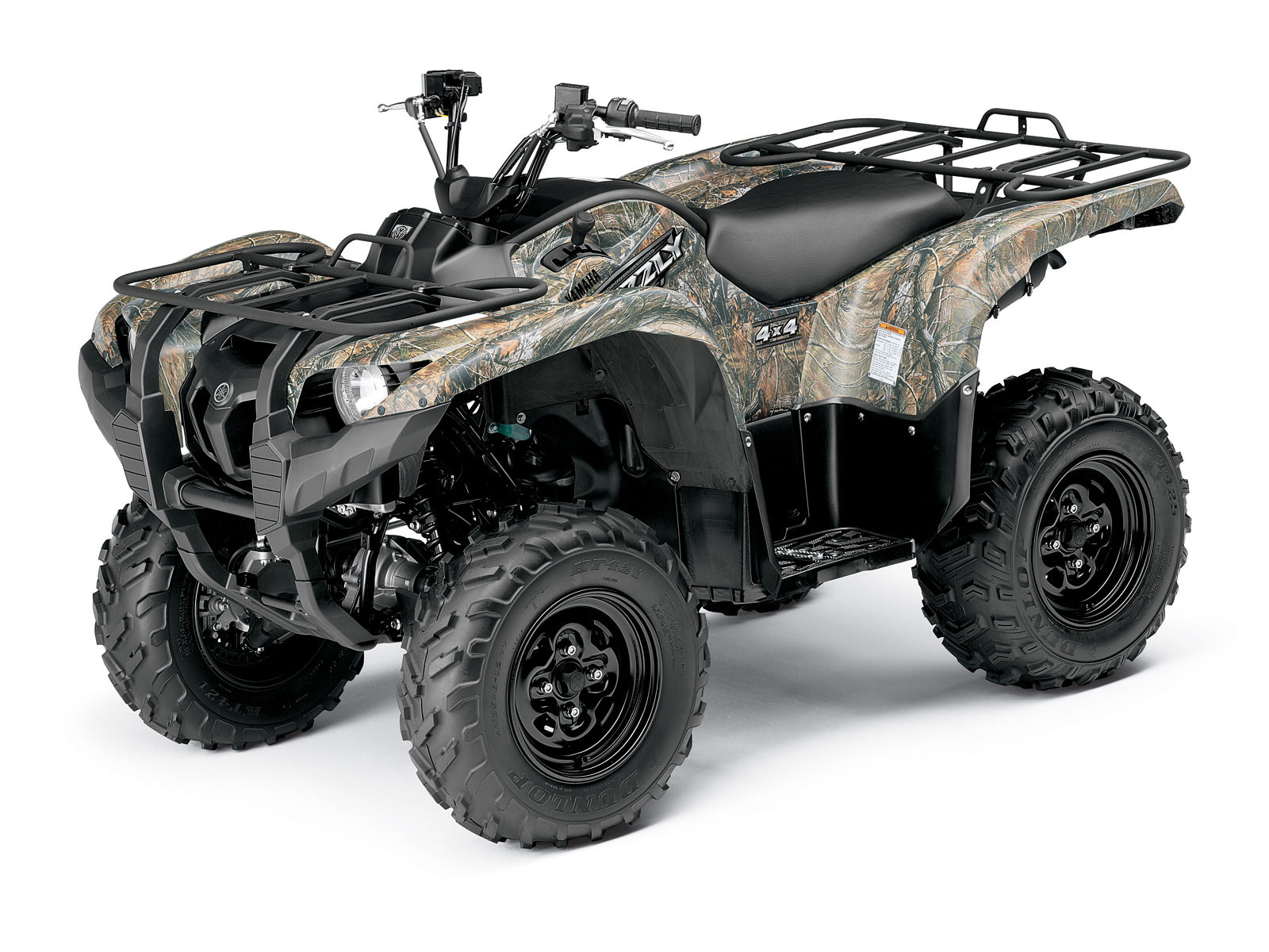 Yamaha grizzly 700 fi eps ducks unlimited 2009 atv for Yamaha grizzly atv