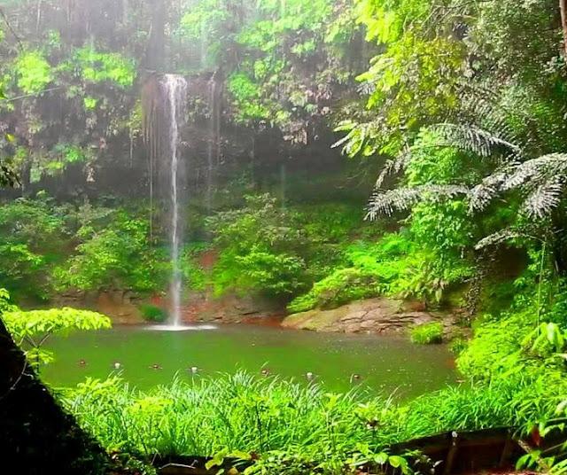 Indahnya alam tanpa pencemaran
