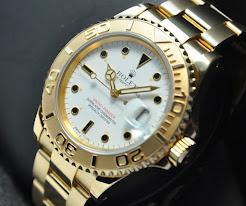 Rolex Yacht Master Gold 16628