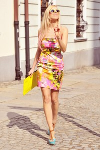 colorful dress Meri Wild