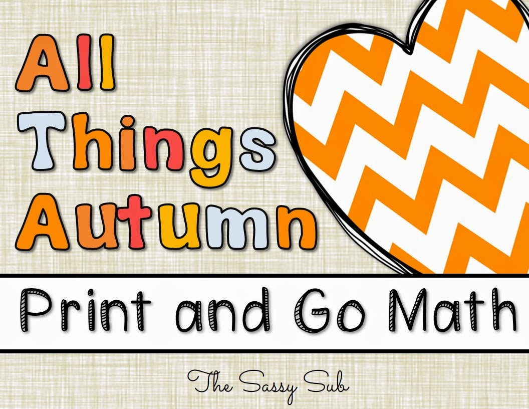 http://www.teacherspayteachers.com/Product/All-Things-Autumn-Fall-Themed-Math-Print-and-Go-Worksheets-No-Prep-1403905