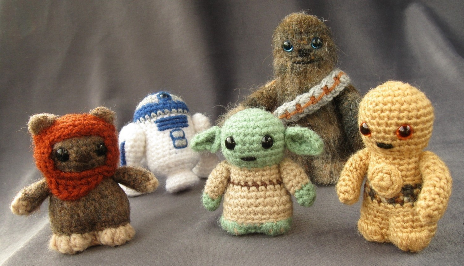 Free Amigurumi Snowman Crochet Patterns : Amigurumis de Star Wars La Guarida Geek