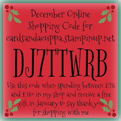 Hostess Code for your December Stampin' Up! Shopping
